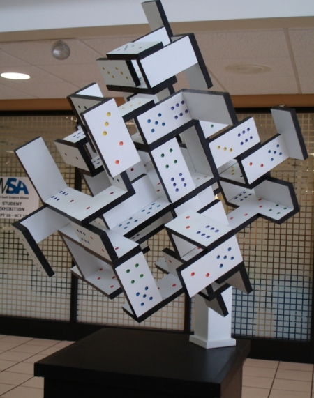 Dominoes by Sonja Turner