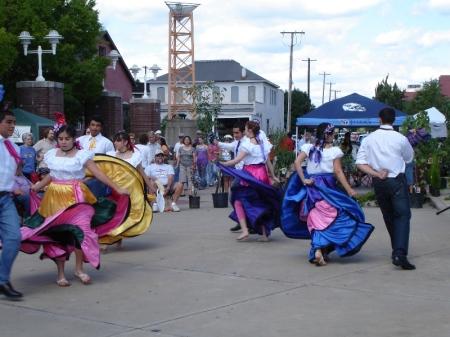 Dancers at CultureFest 2009