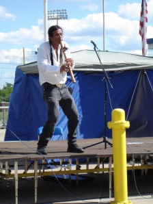 Mike Serna performs at CultureFest