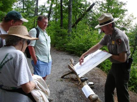 Jim Ogden, the historian for the Chattanooga and Chickamauga National Military Parks, explains the history of Stringer's Ridge.